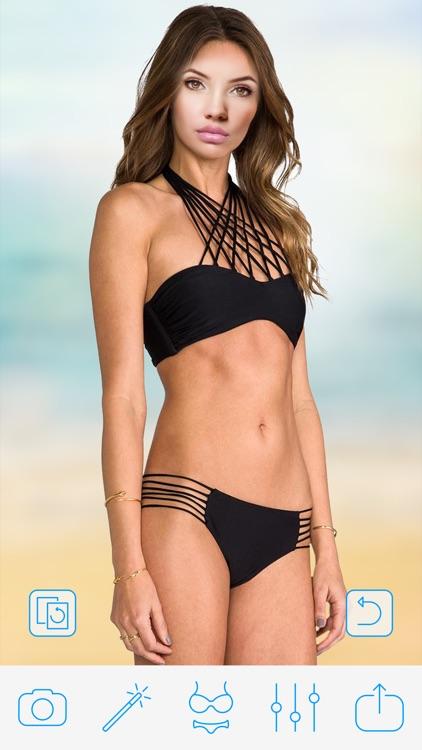 Bikini Photo Booth - Body Shaping App