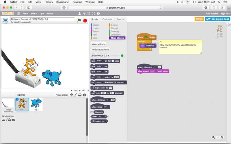 Scratch Device Manager Screenshot