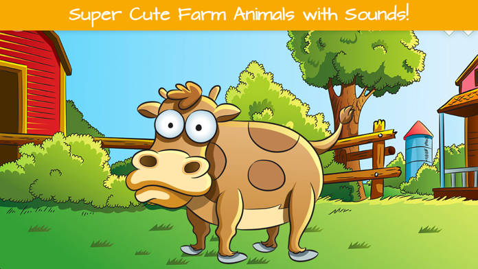 Toddler's Farm Animals Puzzle Screenshot
