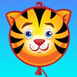 A Cute Wild Animal Balloon Adventure - Tap and Rescue Your Zoo Safari Friends