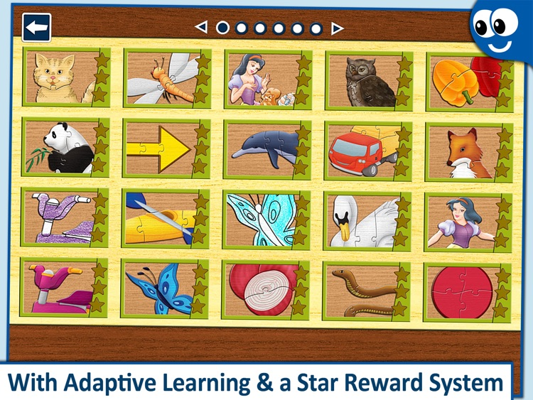 Kids Puzzles 2+:  Jigsaw Puzzle School Learning Game for Preschoolers and Toddlers to Develop Concentration and Problem Solving Skills screenshot-3