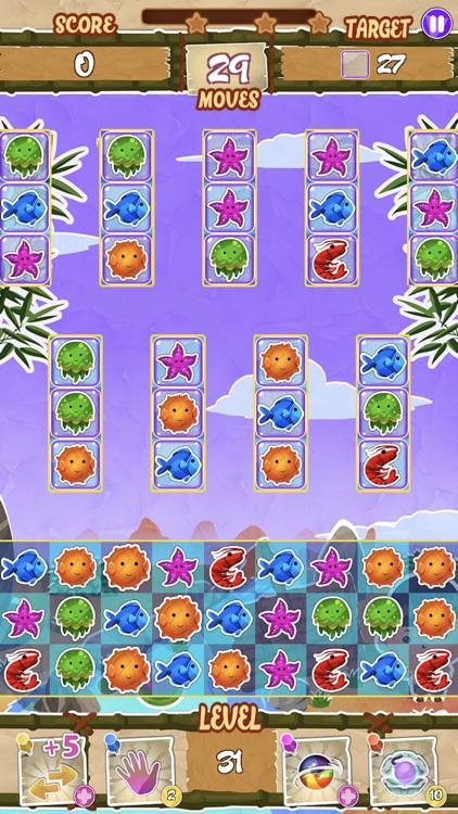 Paper Fish: Match-3 Adventure screenshot-3