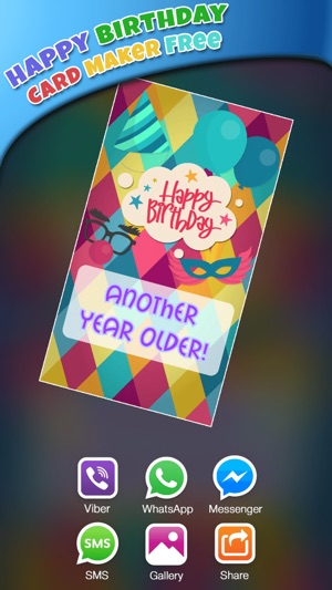 Happy birthday card maker freebday greeting cards on the app store iphone ipad bookmarktalkfo Image collections