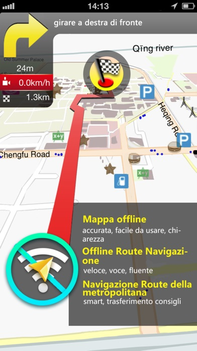 Screenshot for Libano Mappa in Italy App Store