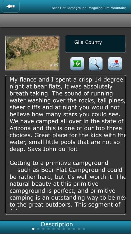 Arizona Campgrounds screenshot-3