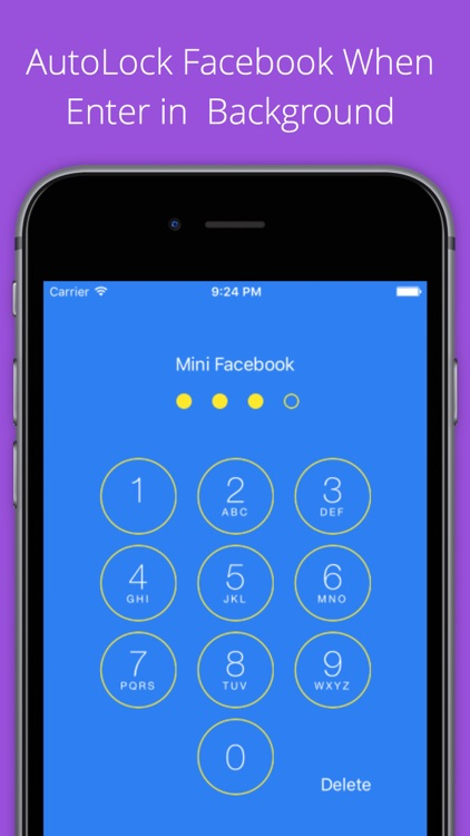 Mini for Facebook - with Lock Feature