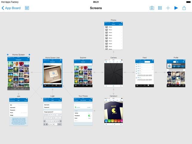 Appcooker prototyping mockup studio for ios en app store capturas de pantalla del ipad malvernweather Images