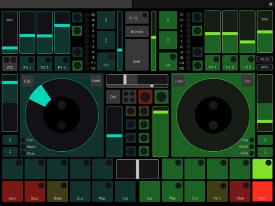 TouchOSC Screenshots