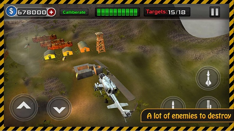 Apache Helicopter 3D : War Heli Strike Game 2017