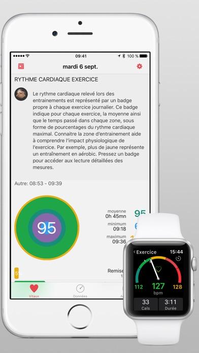t l charger heartwatch pour iphone sur l 39 app store forme et sant. Black Bedroom Furniture Sets. Home Design Ideas