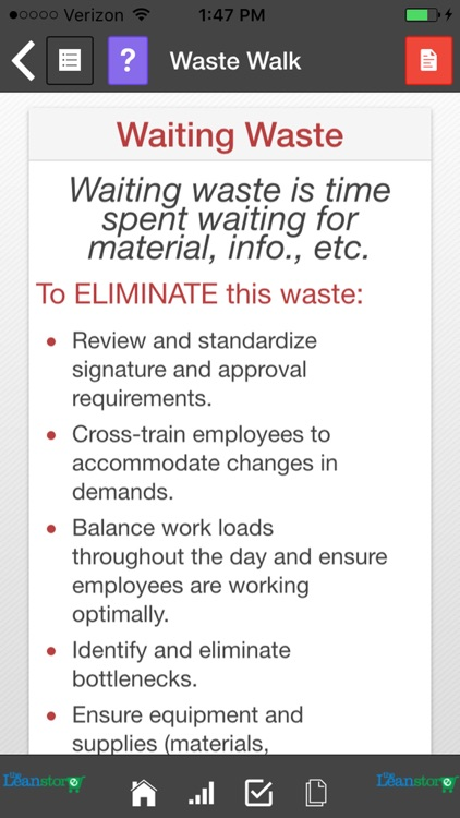 Lean Waste Audit and Waste Walk screenshot-1