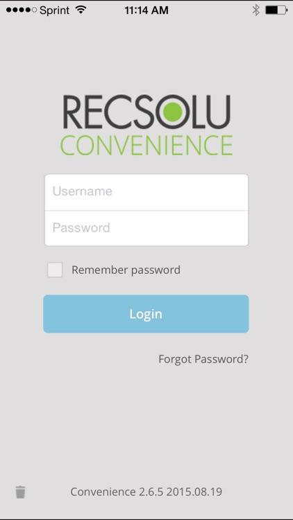 RECSOLU Convenience 2