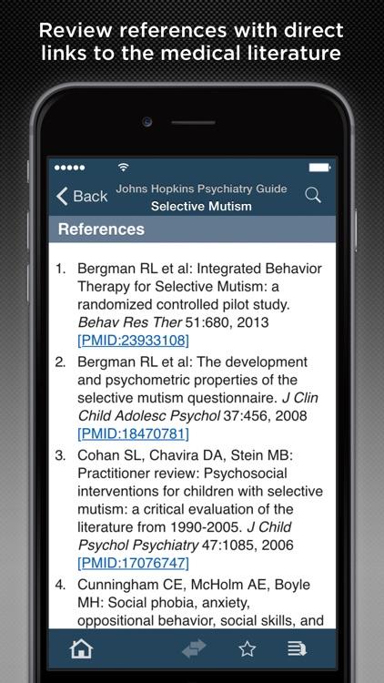 Johns Hopkins Psychiatry Guide 2016 screenshot-3