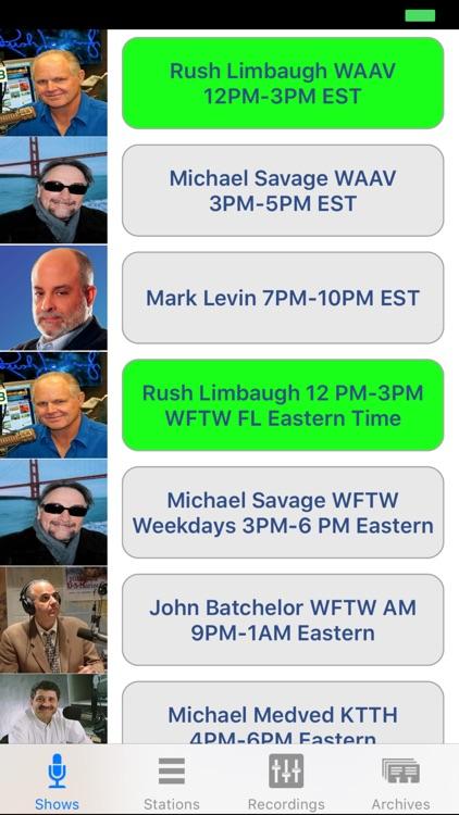 Conservative Talk Radio Live screenshot-0