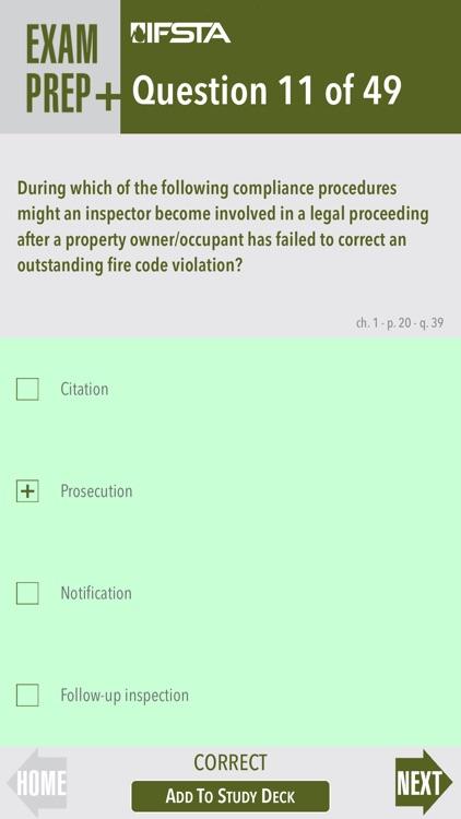 Fire Inspection Code Enforcement 8 Exam Prep Plus screenshot-4