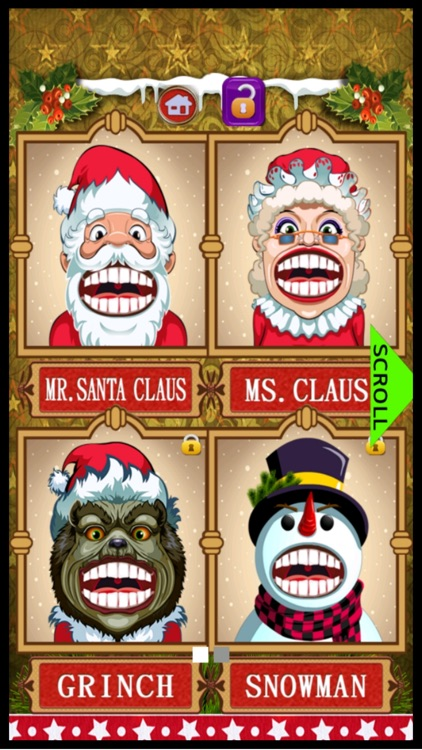 Christmas Dentist Doctor Kid Games (Girls & Boys) screenshot-3
