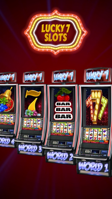 Lucky 7 Slot Machines – Spin 777 Lottery Wheel 1.4 IOS