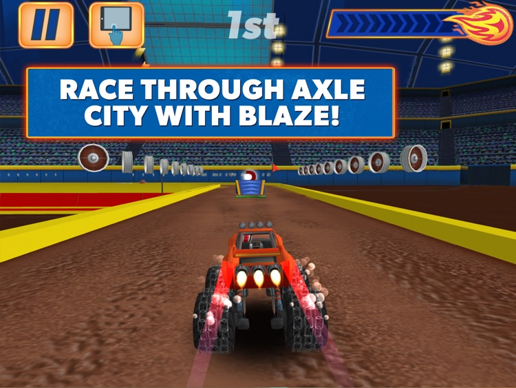 Blaze and the Monster Machines - Racing Game HD screenshot-2