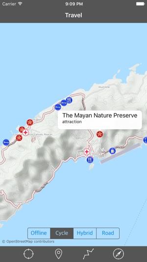 Best 25 road trip planner app ideas on pinterest travel of map usa roatan island honduras gps travel map offline navigator on the app store gumiabroncs Gallery