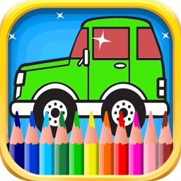 Coloring Book of Cars for Children