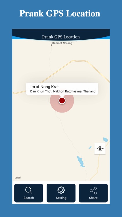 Prank GPS Location screenshot-4