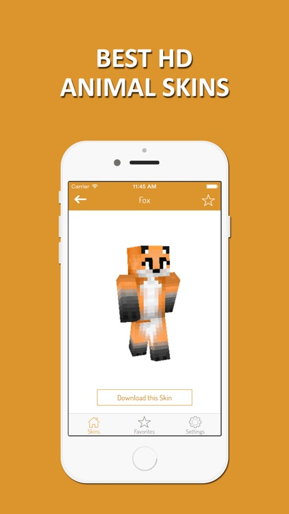 HD Animal Skins - Ultimate Collection for Minecraft PE & PC