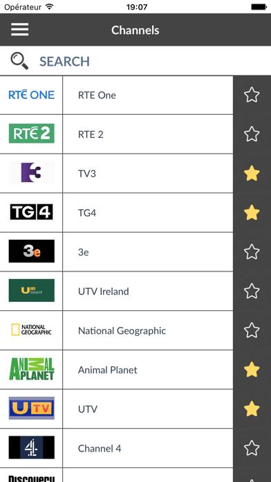 TV Guide Ireland : Irish TV program (IE)