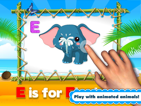 Alphabet Aquarium Letters Reading Adventure A to Z: Preschool and Kindergarten Learning Puzzle Games with Animals for Toddler Kids Explorers screenshot