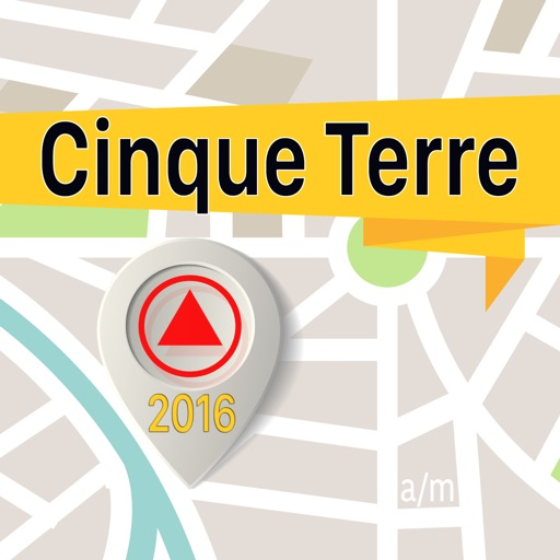 Cinque Terre Offline Map Navigator and Guide