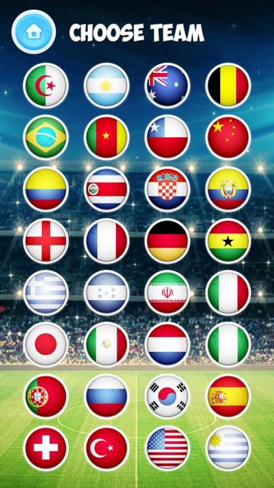 エアホッケー トーナメント - サッカーゲームのスクリーンショット3
