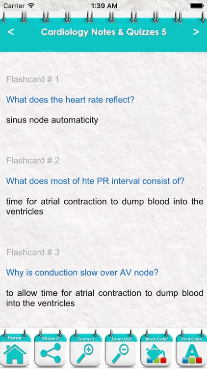 Cardiology Exam Review-6300 Flashcards Study Notes, Terms, Concepts & Quizzes screenshot-1