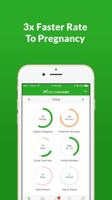 Ovulation Calculator Fertile Tracker & Calendar OC screenshot one