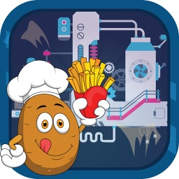 Potato Chips Factory Simulator - Make tasty spud fries in the factory kitchen