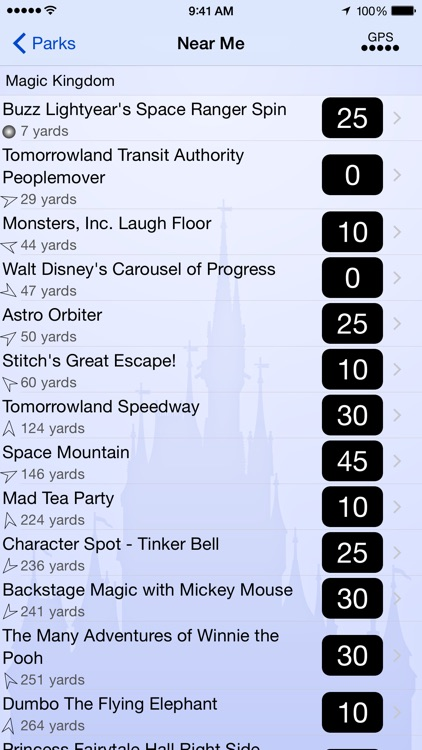 Wait Times for Disney World screenshot-3