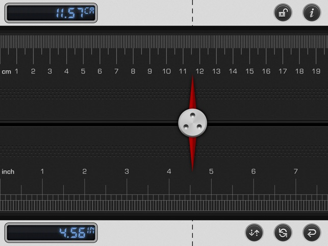 Ruler 2: mm Measuring Tape Screenshot