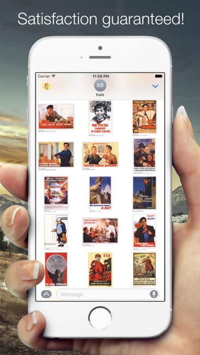Propaganda StickersScreenshot von 4