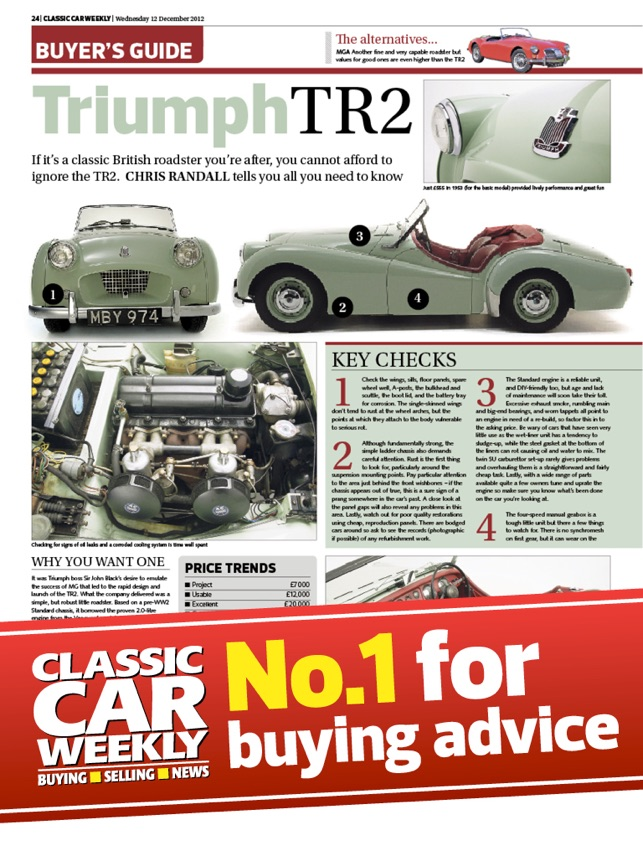Classic Car Weekly Newspaper on the App Store
