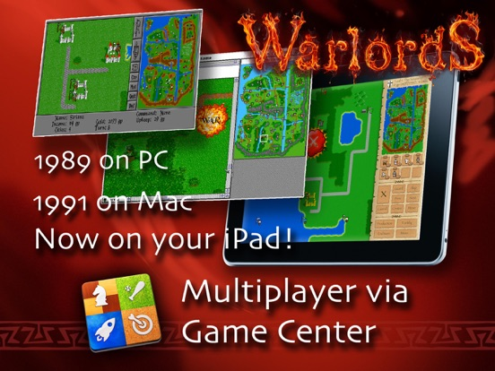 Screenshot #1 for Warlords Classic - official port from Mac/PC/Amiga