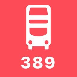 My London TFL Bus Times - 389