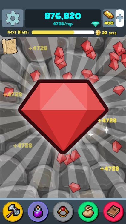 Mine Clicker - Pickaxe Block Mining Idle Games, Clicker Games