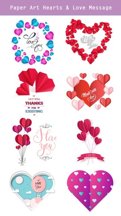 Animated Paper Art Love Pack screenshot 4