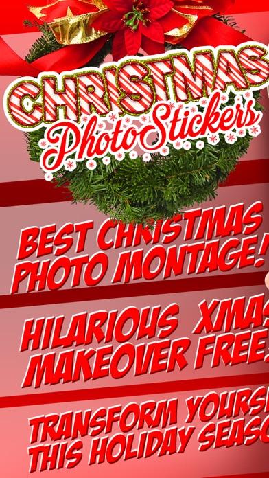クリスマス 写真 編集者 - サンタ クロース フォト モンタージュ カメラ ステッカー フリー紹介画像1