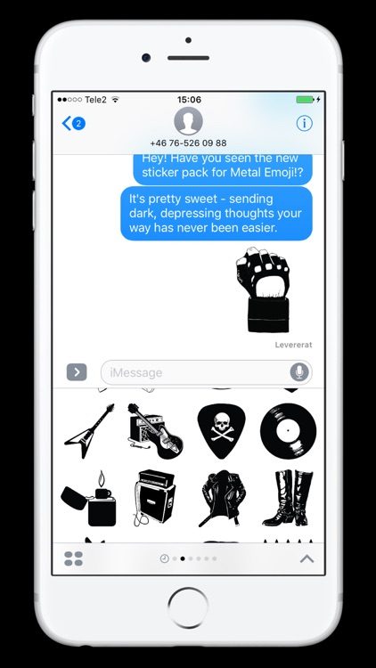 Metal Emoji screenshot-0