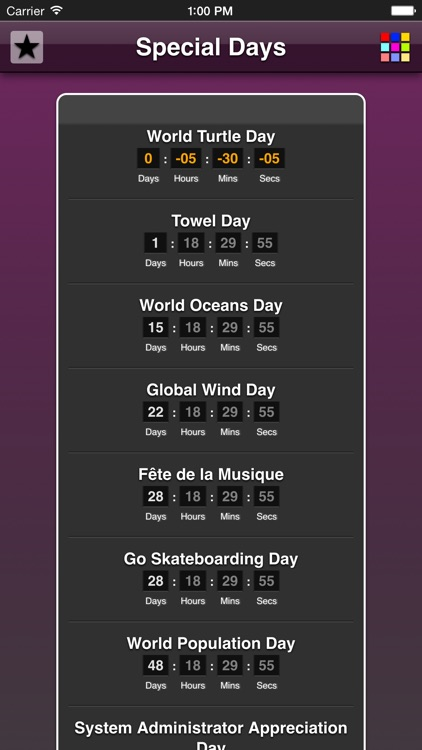 Special Days App screenshot-4