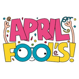 Happy April Fools Day Sticker