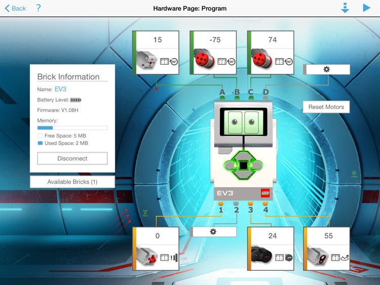 LEGO® MINDSTORMS® EV3 Programmer screenshot-4