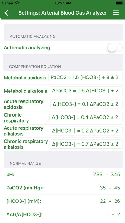 Arterial Blood Gas (Pro) screenshot-3