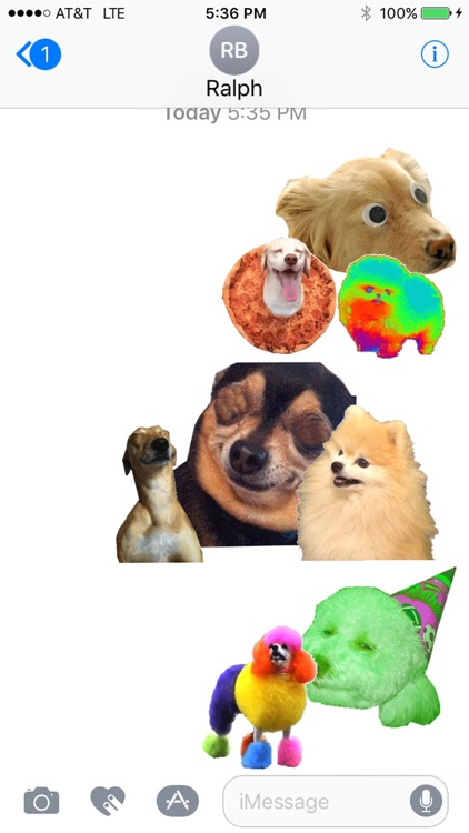 dogdings ~ animated dog stickers for dogs screenshot-3