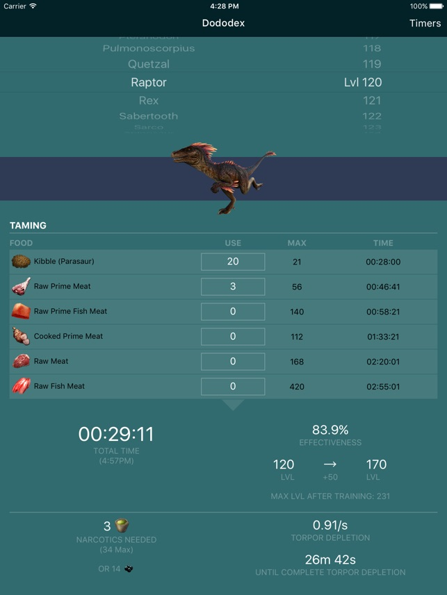 Dododex: ARK Survival Evolved on the App Store