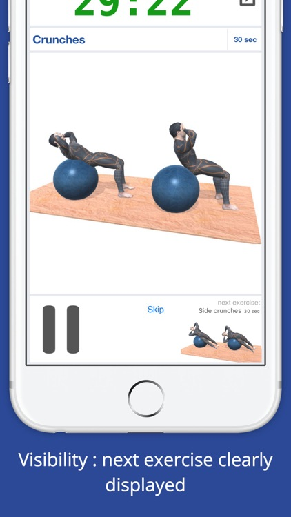 Exercise Ball Workout Challenge PRO - Get fit